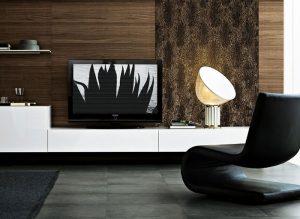 Panel de pared 14324 PELZ SAVANNA óptica de piel con manchas de leopardo marrón