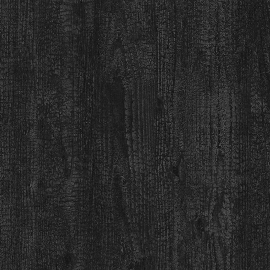 Настенное покрытие рельефное матовое природный декор WallFace 20158 Antigrav Carbonized Wood Настенное покрытие под дерево  самоклеящаяся антрацитовая зелёно-серая  2,6 м2