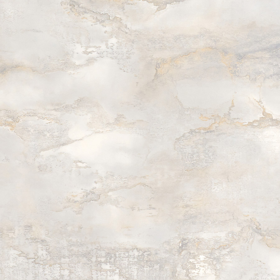 Настенное покрытие гладкое матовое под камень WallFace 23100 GENESIS White Настенное покрытие под мрамор самоклеящаяся износостойкая белая кремово-белая 2,6 м2