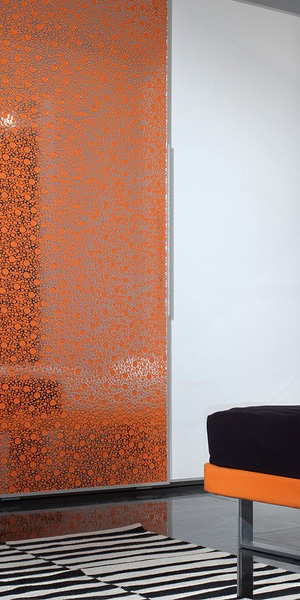 dekorativnaja_panel_structure_collection_bubble_orange_silver_interieur