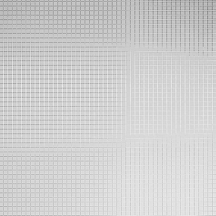 Dekorpaneel 10639 Spiegelmosaik Metall Optik Silber