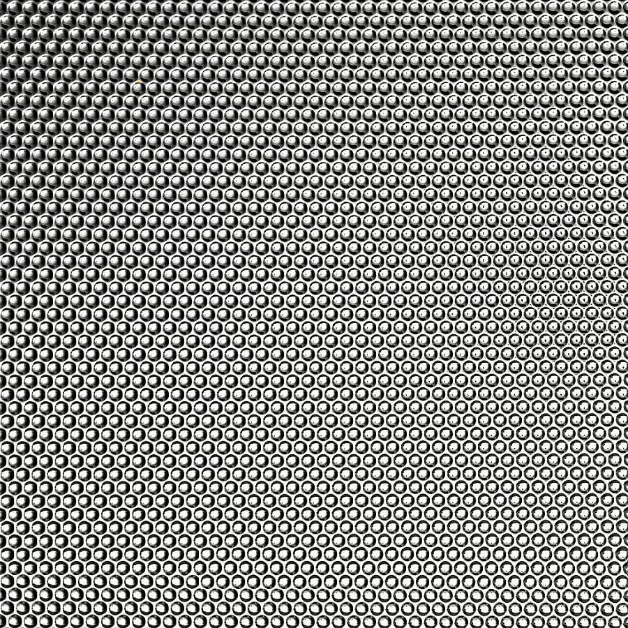 Wandpaneel 17239 RACERunddekor geprägt3D Optik Silber Grau